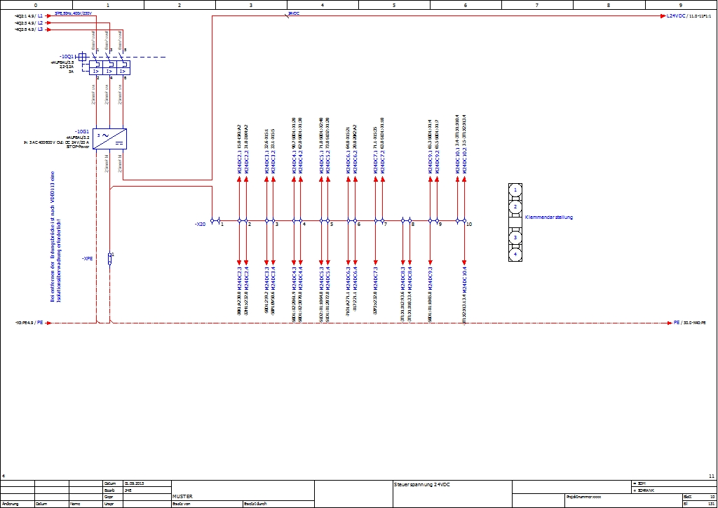 Eplan Stromlaufplan zeichnen